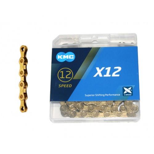 cadena kmc x12 oro