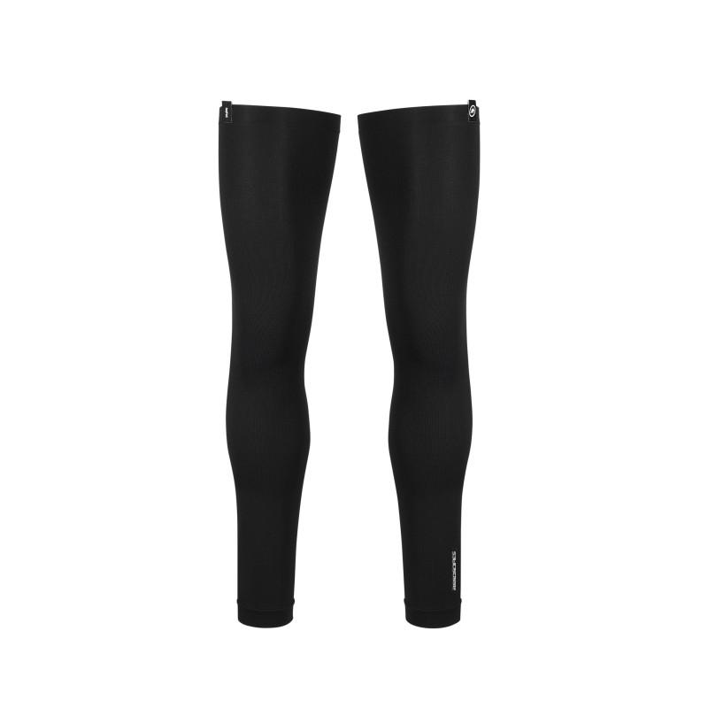 perneras ASSOS leg foil black series